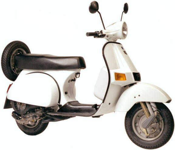 What is a Vespa motor scooter?